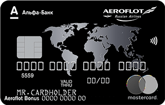 Кредитная карта Аэрофлот Блэк