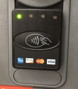 Устройство бесконтактного взаимодействия с банкоматом