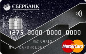 Сбербанк платиновая карта